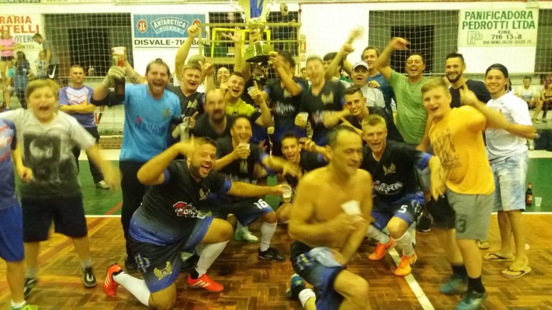 Tulipas Soccer é o grande campeão em Arroio do Meio
