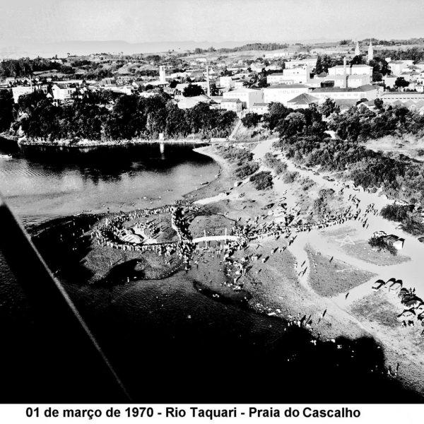 Há 50 anos, concurso elegia rainha das praias do Rio Taquari