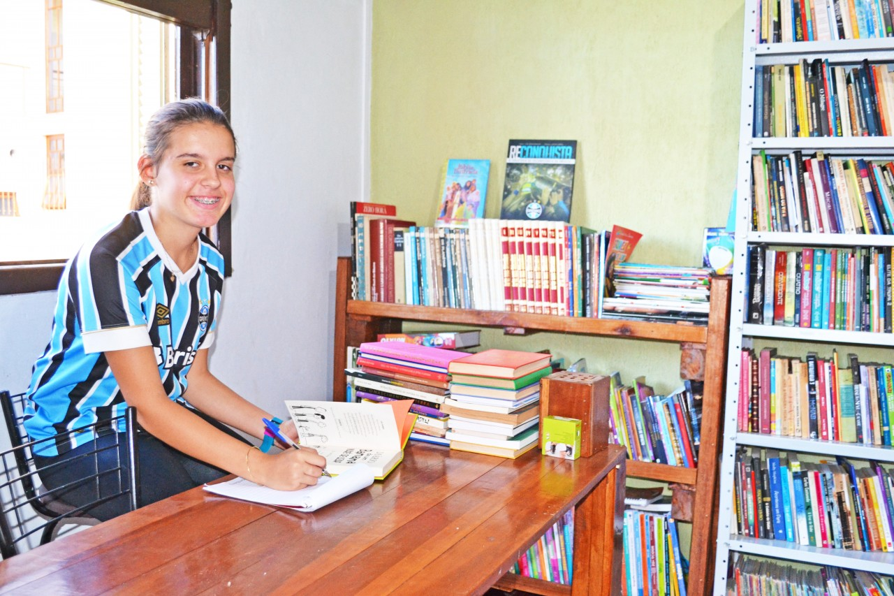 Onze anos e uma biblioteca