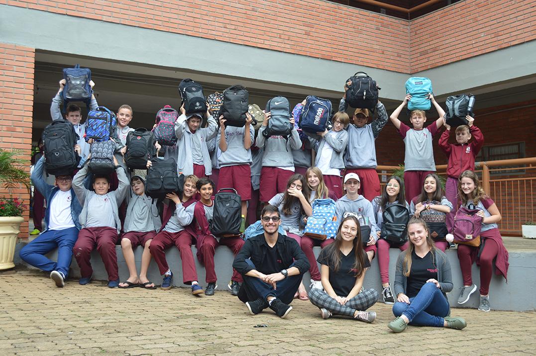 Escola lança projeto sustentável e solidário