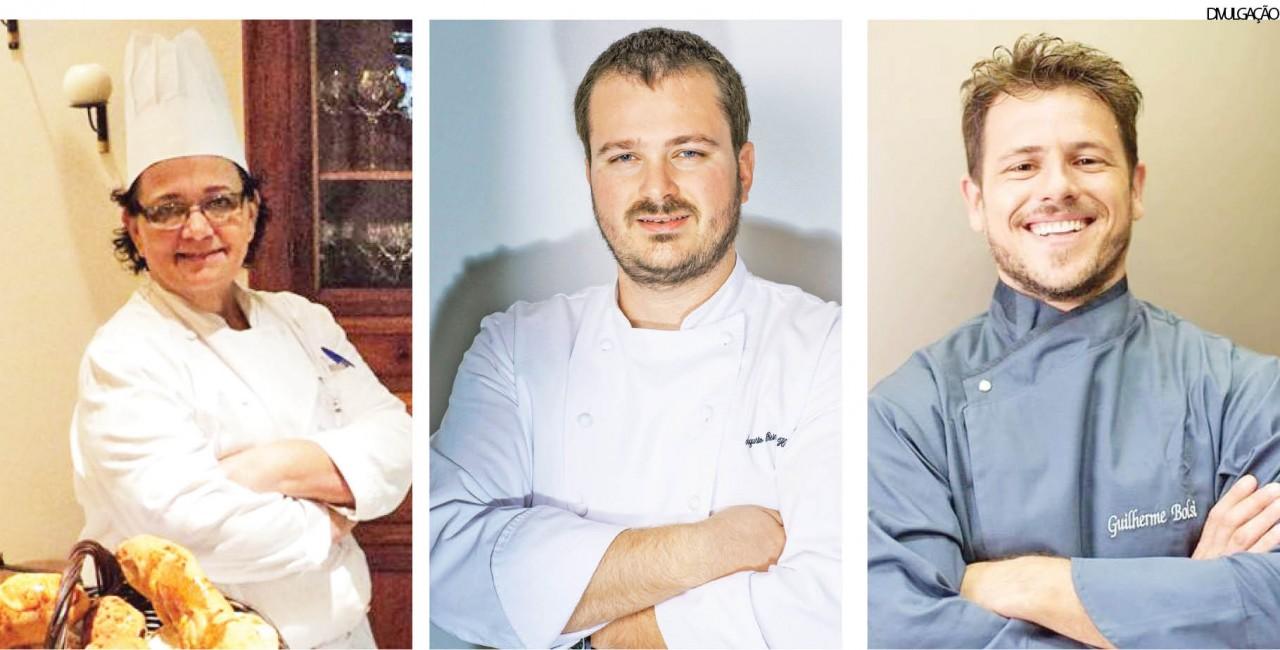 Chefs promovem experiência gastronômica no EmpreInove