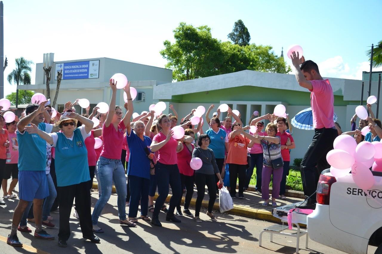 Paverama realiza Caminhada do Outubro Rosa
