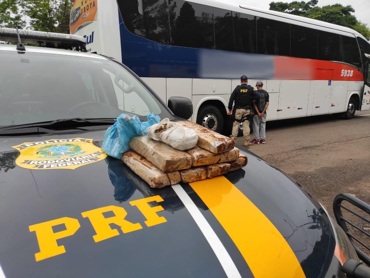 PRF prende mais um homem por tráfico de drogas em Lajeado