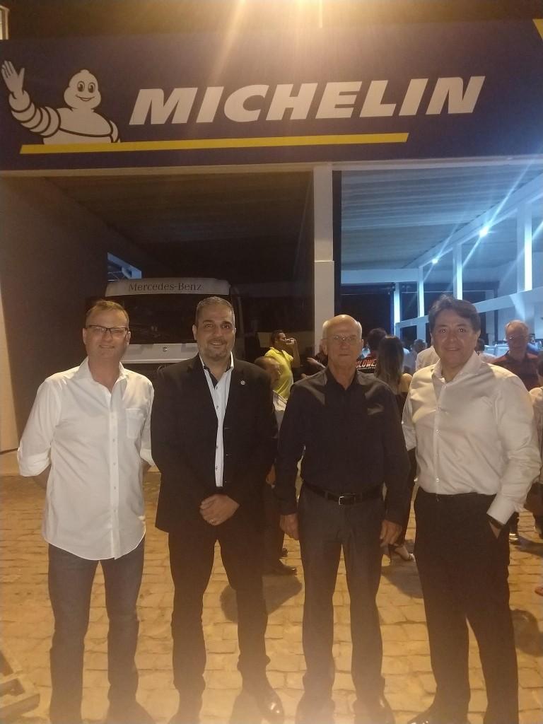 Apomedil inaugura o novo Truck Center Michelin