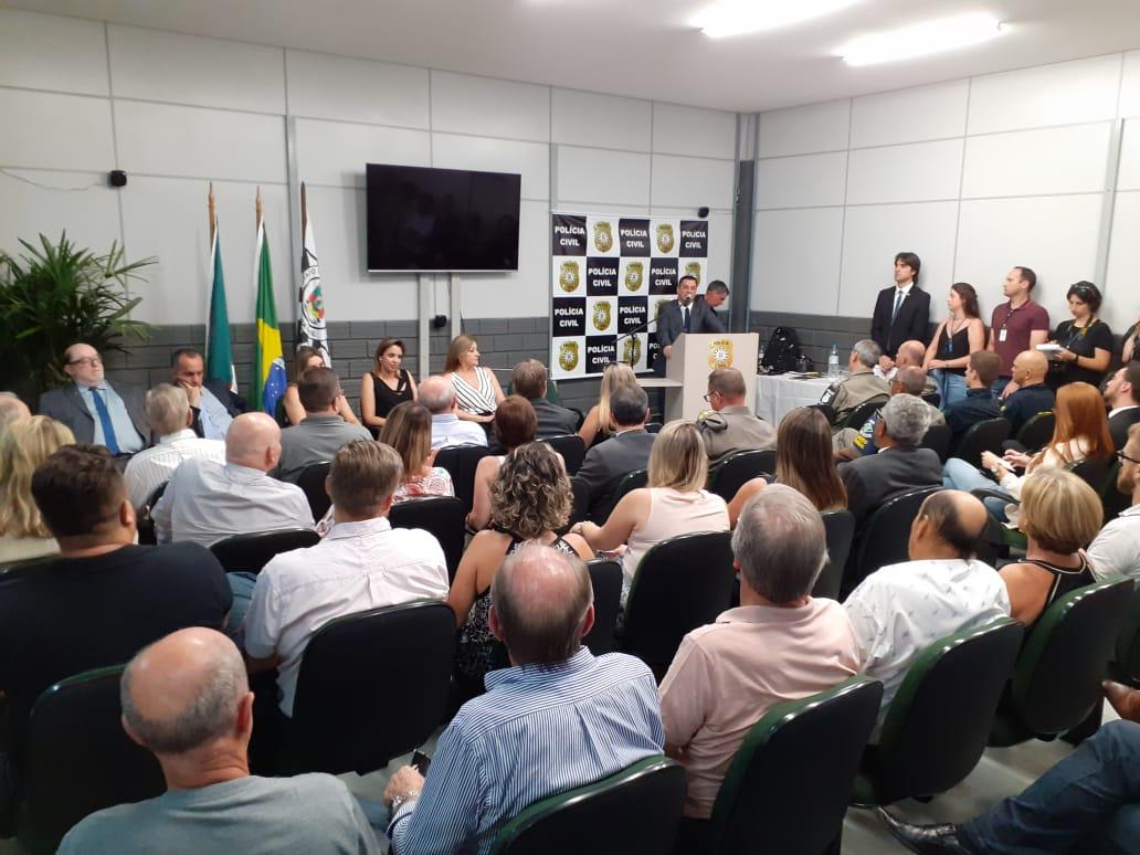 Delegacia de combate ao crime organizado é inaugurada nesta quarta-feira