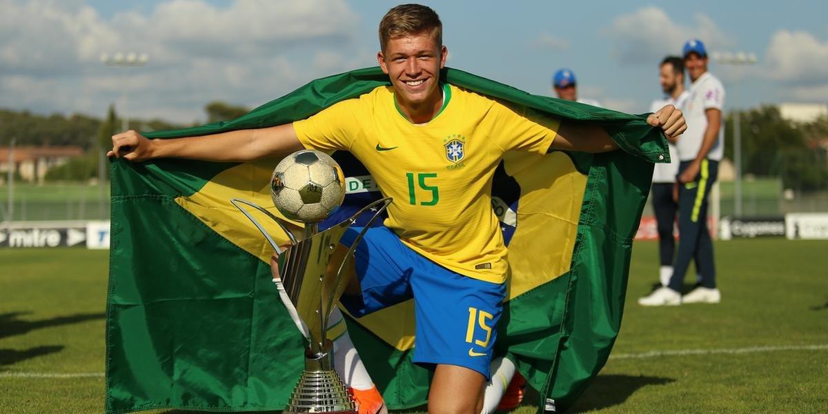 Bruno Fuchs é convocado à Seleção Olímpica