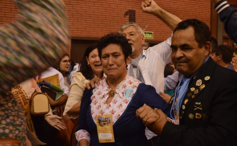 Chapa de Elenir Winck foi declarada vencedora no congresso em Lajeado