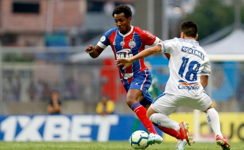 Moisés foi contratado por R$ 2.250 milhões. Na temporada de 2019, atuou em 55 jogos e marcou dois gols pelo Bahia