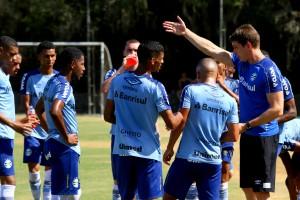 Grêmio atuará com a equipe de transição, comandada pelo técnico Thiago Gomes