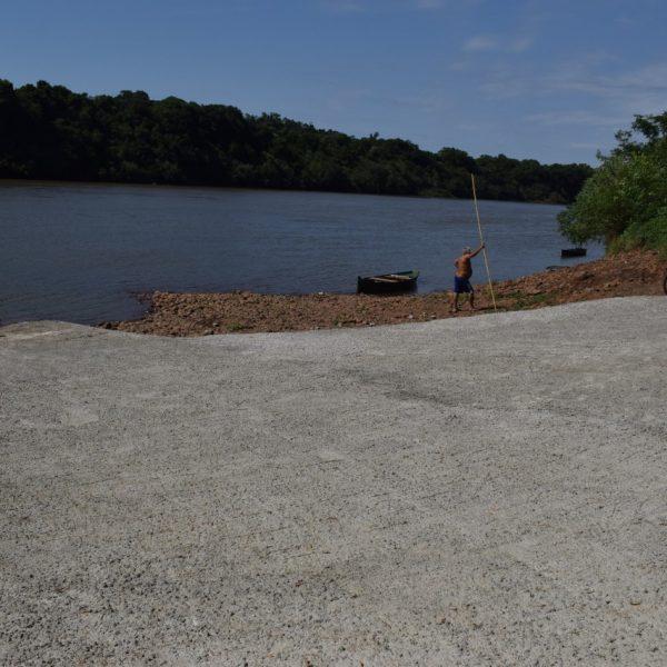 Arroio do Meio revitaliza orla do rio Taquari