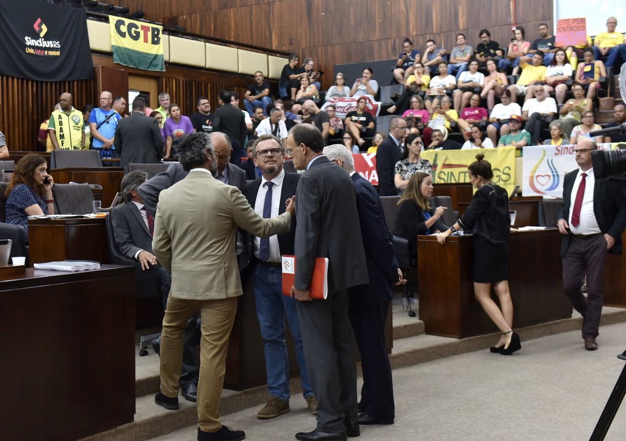 Começa hoje a votação da Reforma do RS