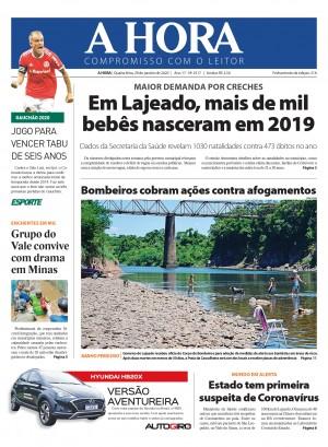 Capa A Hora - 29-01-2020