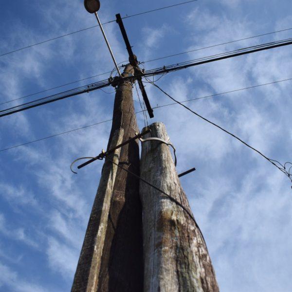 RGE troca postes no interior