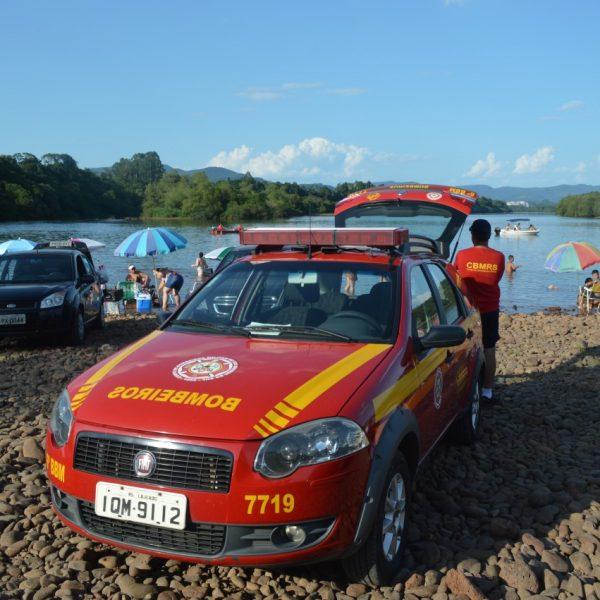 Bombeiros localizam corpo de homem desaparecido no rio
