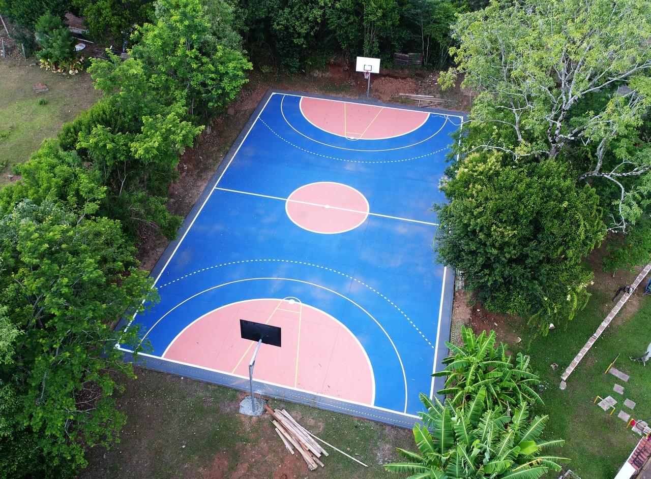 Quadra de basquete no Parque Pôr do Sol será entregue domingo