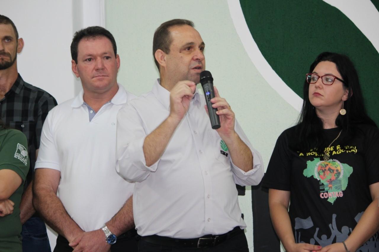 Carlos Joel é reeleito como presidente da Fetag-RS