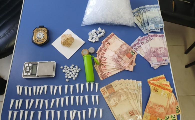 Primeiro mês teve cinco ocorrências por tráfico de drogas