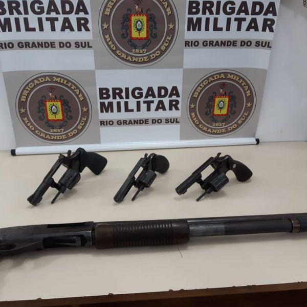 BM prende quadrilha após assalto a residência