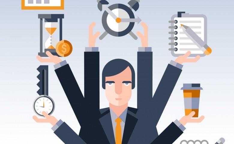Time management businessman