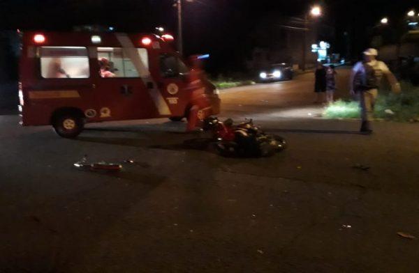 Menor morre após moto colidir contra carro no bairro Canabarro
