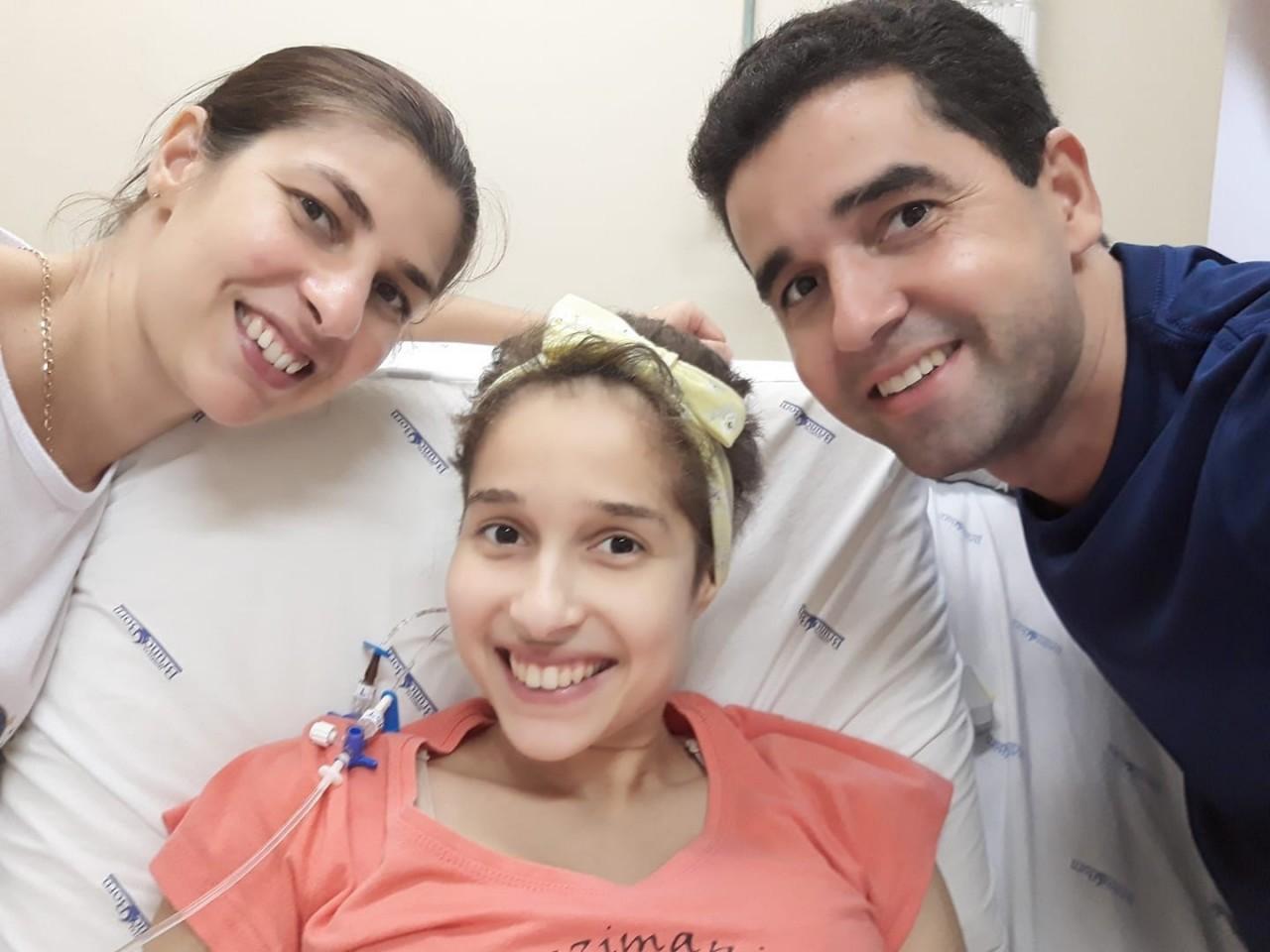 Jovem de Paverama com leucemia consegue leito no Hospital Albert Einstein