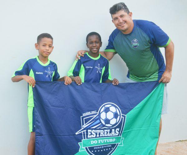 Um sonho: ser jogador de futebol