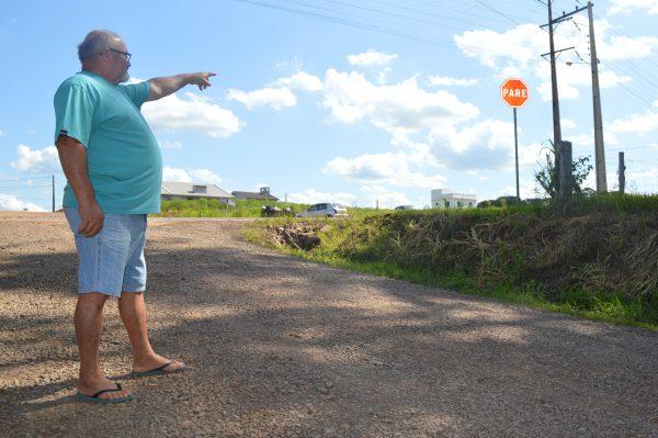 Reorganização de trânsito em rua de acesso à BR preocupa moradores de Conventos