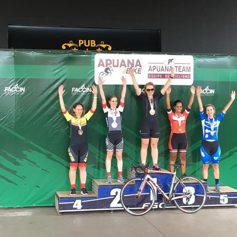 Ciclistas na busca pelo título Gaúcho