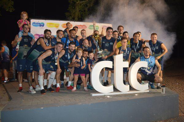 Os primeiros campeões de 2020 no CTC