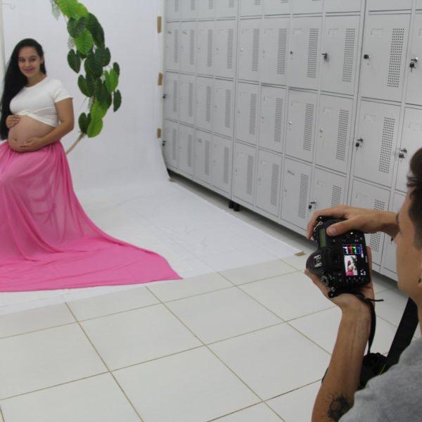 Gestantes acompanhadas pelo ESF Conservas ganham ensaio fotográfico