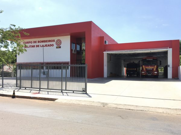 Novo quartel do Corpo de Bombeiros será inaugurado em março