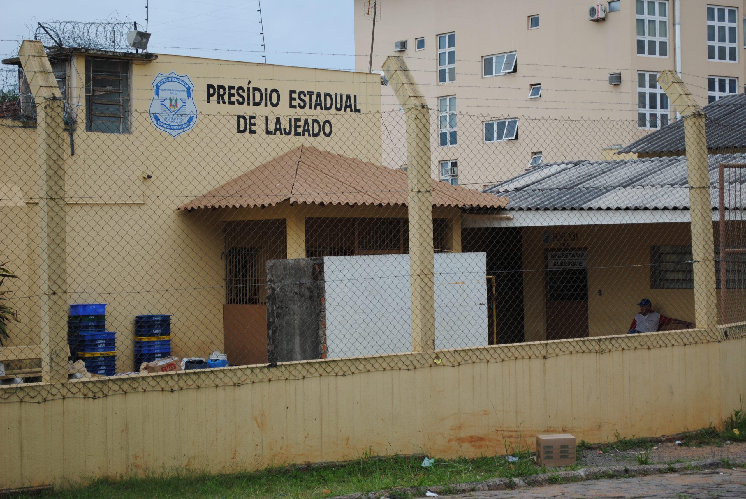 Preso é diagnosticado com covid-19 em Lajeado