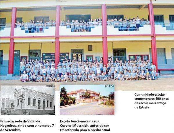 Escola Vidal de Negreiros celebra hoje 100 anos