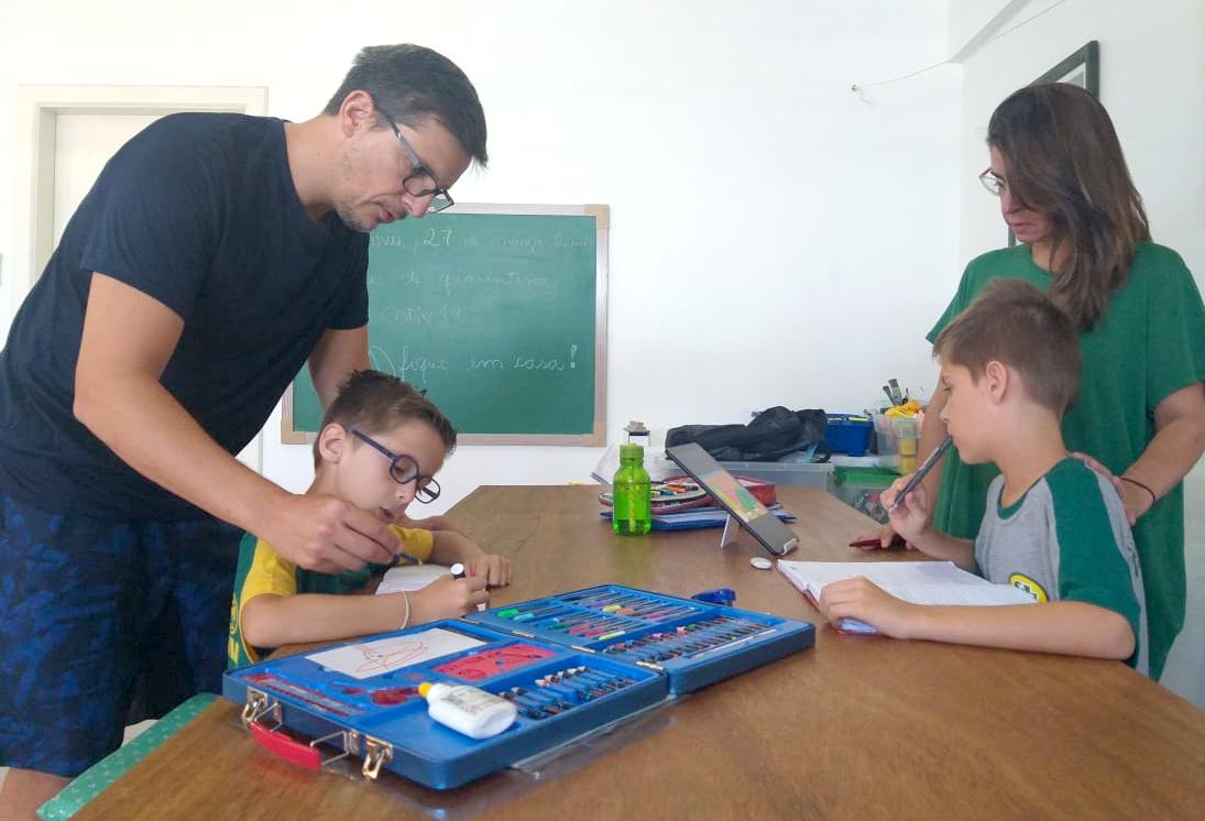 Colégio Teutônia conta com a tecnologia como aliada da quarentena