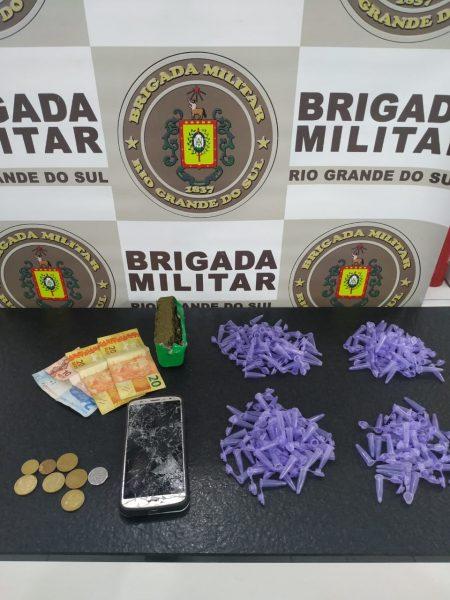 Homem é preso por tráfico de drogas em Bom Retiro do Sul