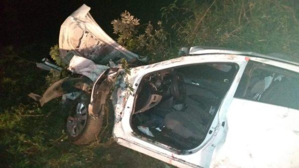 Um morre e outros cinco ficam feridos em acidente na BR-386