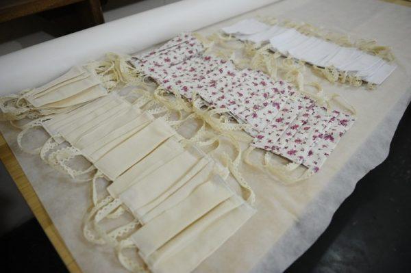 Servidoras do Presídio Feminino confeccionam máscaras de algodão