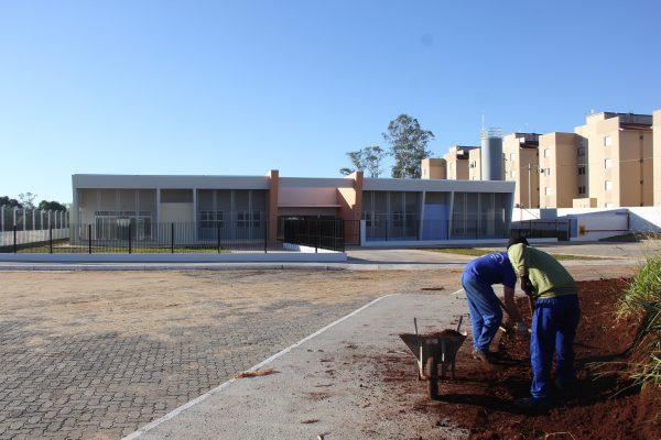 Obras para nova escola no Santo Antônio estão na fase final