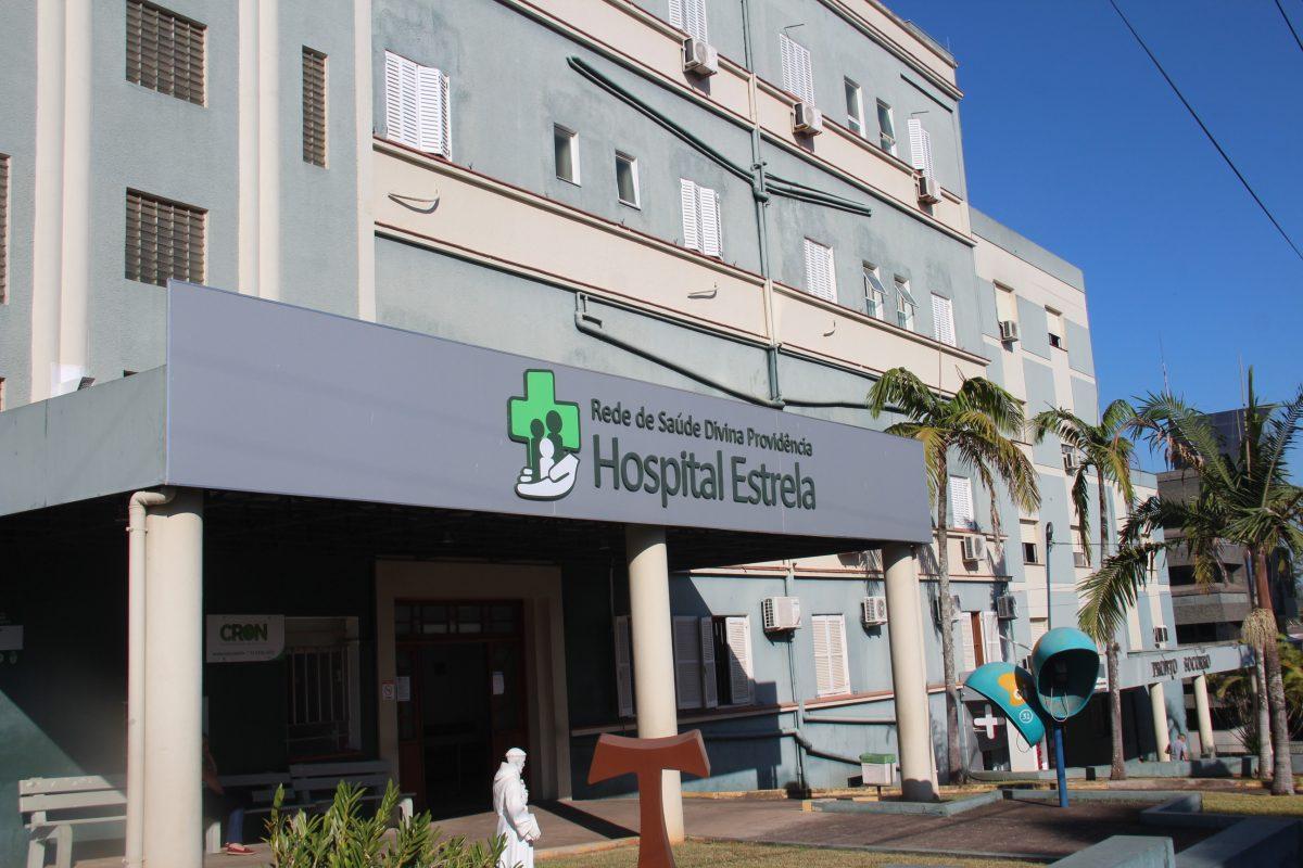 Hospital Estrela registra óbito em decorrência da covid-19