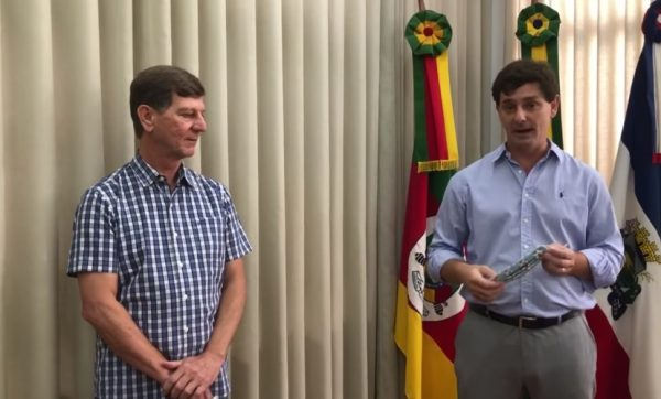 MDB sugere improbidade contra prefeito e secretário de Lajeado