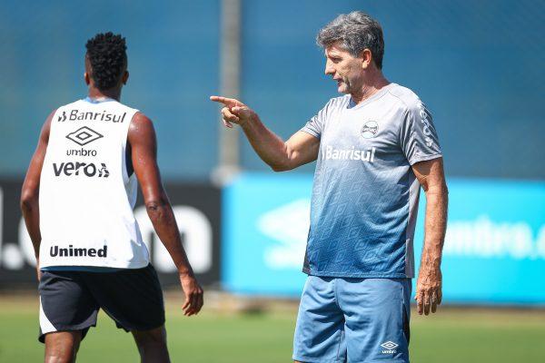De volta ao Grêmio, Renato testa negativo para Covid-19 e inicia trabalhos