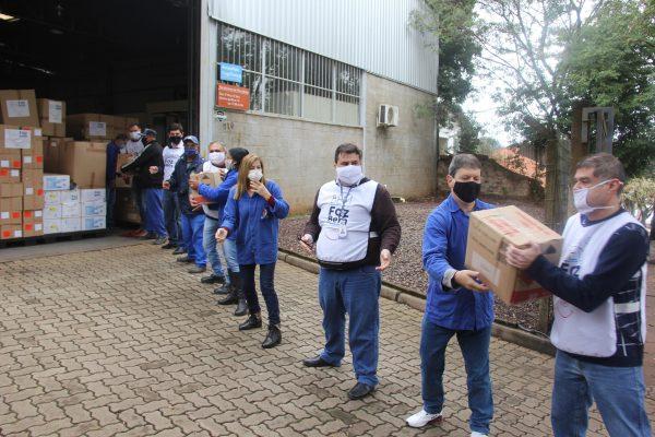 JBS doa mais de 100 mil itens de proteção e sanitização para Lajeado