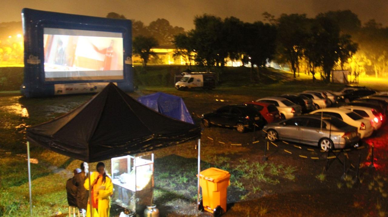 Cine Drive-in ocorre amanhã no Parque do Imigrante
