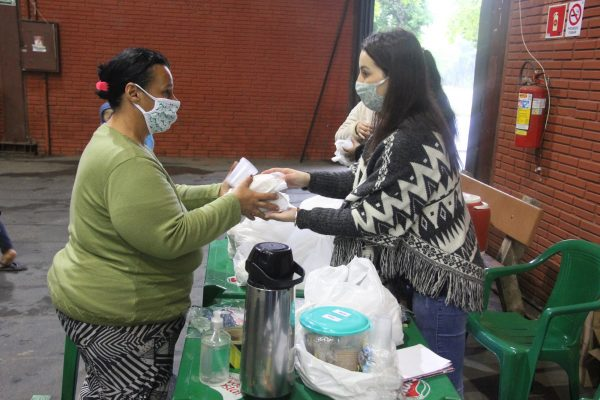 Parque do Imigrante aloja 40 famílias