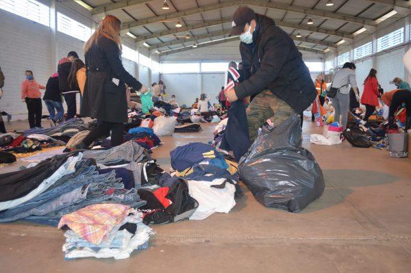 Famílias afetadas pela enchente em Lajeado recebem doações