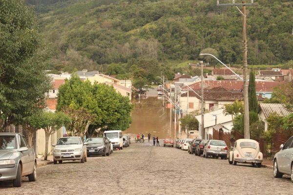 Nível do Taquari volta a subir e Muçum fica em situação de alerta