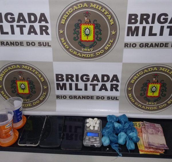 Jovem de 19 anos é preso por tráfico no bairro Planalto