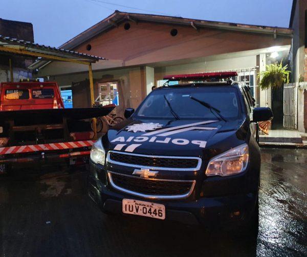 Polícia prende quadrilha especializada em furto de caminhões