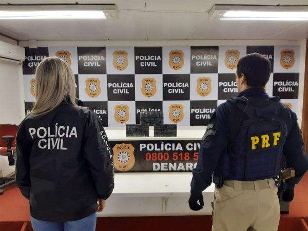 Polícia prende três traficantes na BR-386