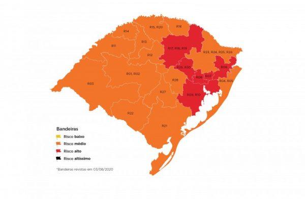 16 municípios do Vale podem atender a restrições da bandeira laranja